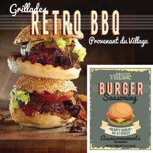 Retro burger FR