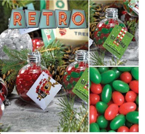 Candy ornaments retro