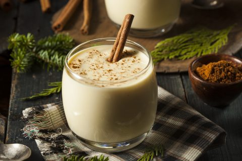 Homemade White Holiday Eggnog