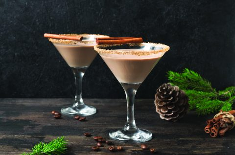 Coffee or irish cream Cocktail